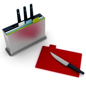 Zestaw 4 desek z nożam