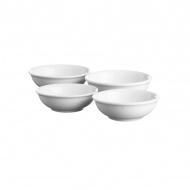 Zestaw 4 salaterek Price&Kensington Simplicity biały