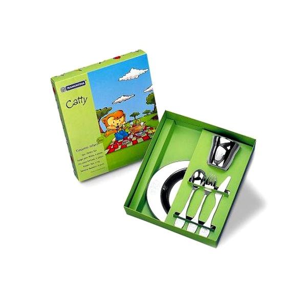 Zestaw dla dzieci Tramontina Catty 64250/940