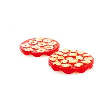 Zestaw do chipsów z szatkownicą Mastrad czerwony