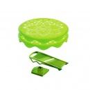 Zestaw do chipsów z szatkownicą Mastrad zielony