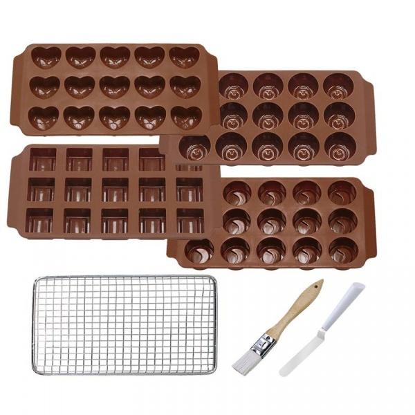 Zestaw do czekoladek Kuchenprofi KU-0805095500