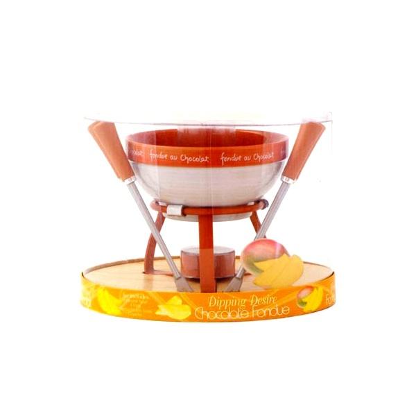 Zestaw do czekoladowego fondue  MSC International Entertain pomarańczowy MS-94032