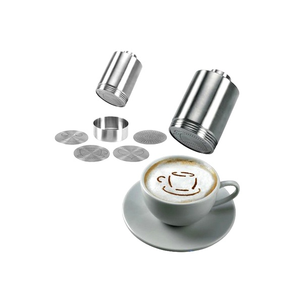 Zestaw do dekorowania cappuccino Leopold L-04350