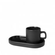 Zestaw do espresso 4 elementy Blomus MIO ciemnozielony