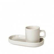 Zestaw do espresso 4 elementy Blomus MIO ecru
