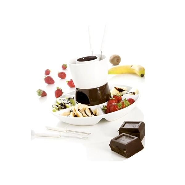 Zestaw do fondue Brandani DOUBLE CHOC 57998