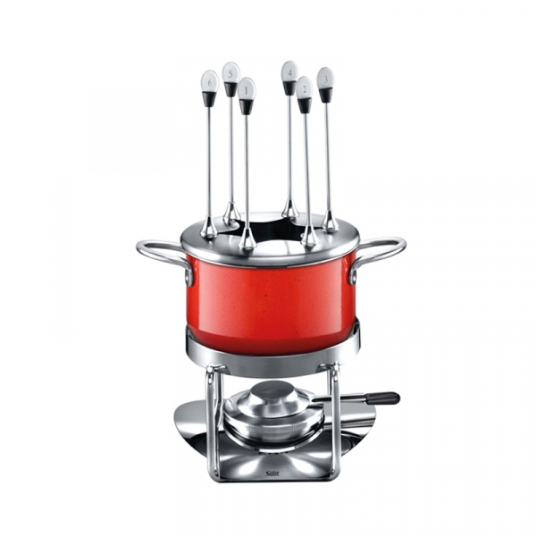 Zestaw do fondue Silit Energy red 21.3524.7371