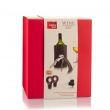 Zestaw do podawania wina dla początkujących Vacu Vin 4 elementy VV-69000606