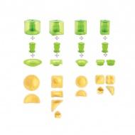 Zestaw do przygotowania ravioli 10 części Mastrad zielony