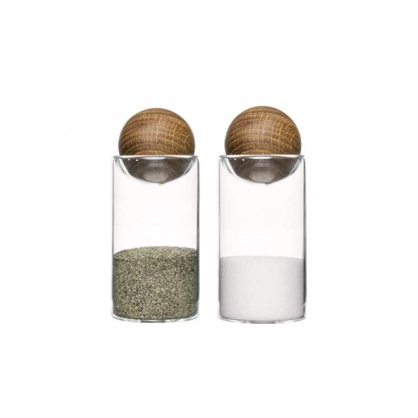 Zestaw do soli i pieprzu Sagaform Oval Oak SF-5017178