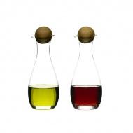 Zestaw dwóch butelek na oliwę i ocet Sagaform