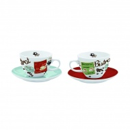 Zestaw filiżanek cappuccino Nuova R2S Vintage 2 szt.