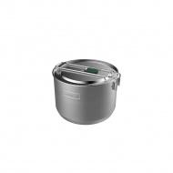 Zestaw kempingowy garnek + ADVENTURE - srebrny 1,5L / Stanley