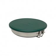 Zestaw kempingowy patelnia + ADVENTURE - srebrny 0,95L / Stanley