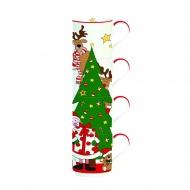 Zestaw kubków świątecznych 4szt 275ml Nuova R2S Christmas Collection