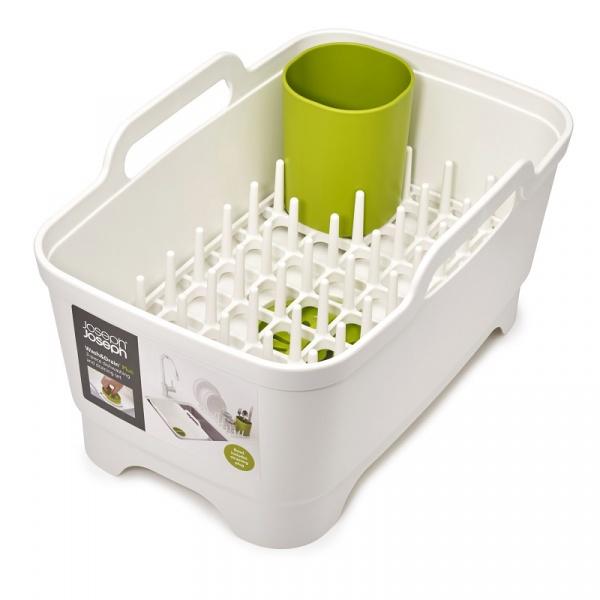 Zestaw kuchenny 3 elementy Joseph Joseph Wash&Drain biało-zielony 85101
