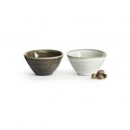 zestaw miseczek, 2 szt., ceramika, śred. 14 cm