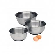 Zestaw misek kuchennych 3 szt Brabantia srebrne