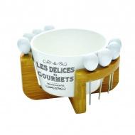 Zestaw na oliwki Nuova R2S Delices Gourmets