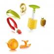 Zestaw narzędzi do obierania owoców Tommorow's Kitchen TK-48892606