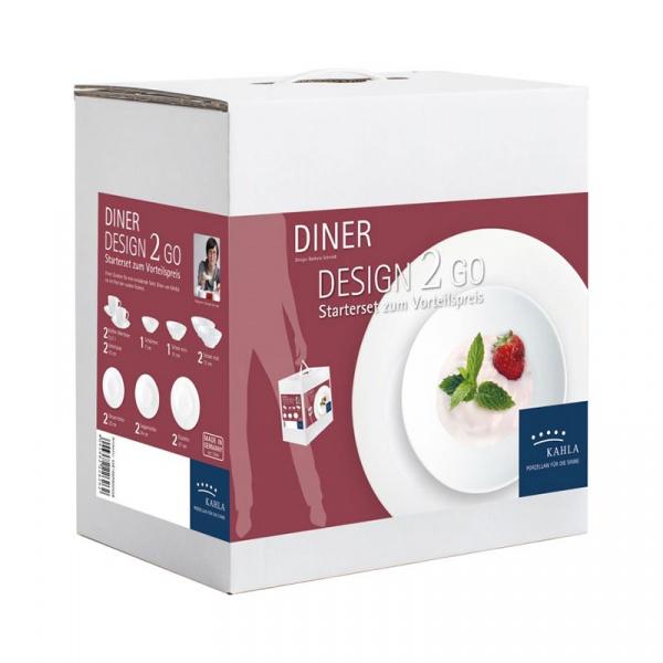 Zestaw obiadowy 14szt Kahla Diner KH-55E196A90055C