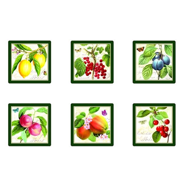 Zestaw podkładek korkowych Nuova R2S Botanical 6 szt. 184 BACB