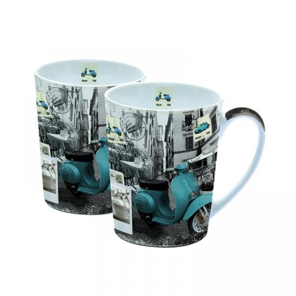 Zestaw porcelanowych kubków Nuova R2S Easy Life 2 szt. 221 DCV