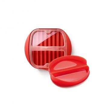 Zestaw śniadaniowy Lekue czerwony