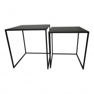 Zestaw stolików COMBO czarny - metal