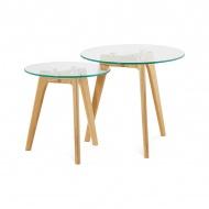 Zestaw stolików kawowych Iggy 50x50cm Kokoon Design