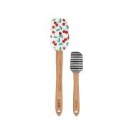 Zestaw szpatułek kuchennych z nadrukiem Ladelle Betty Cherry