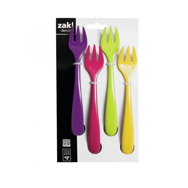Zestaw widelczyków Zak! Design Sweety 4 el. 2118-8935