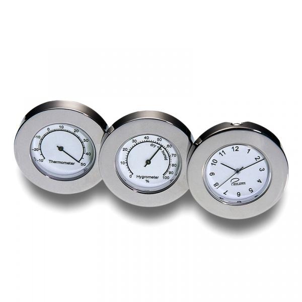 Zestaw zegar-barometr-termometr Philippi Business 232001