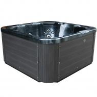 Zewnętrzne Spa ciemnoszare - ogrodowe - basen - wanna - Ruggiero