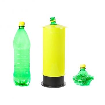 Zgniatarka do butelek, puszek i kartonów Omega Meliconi czarny połysk