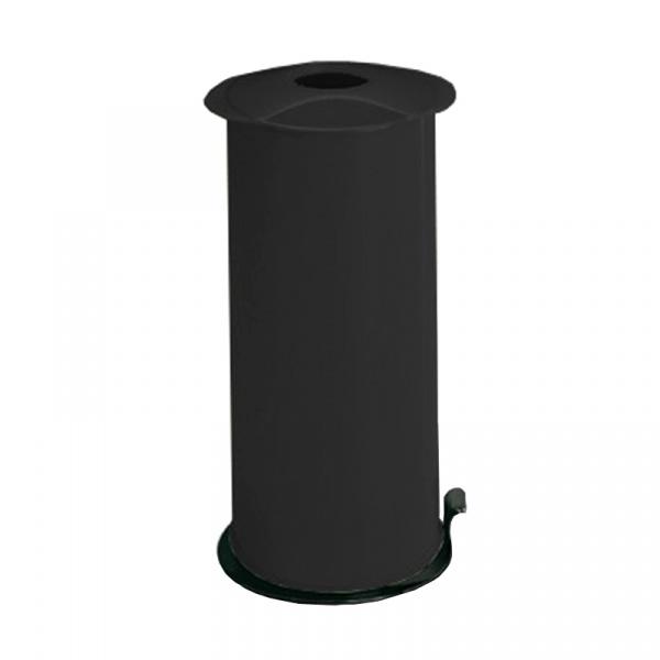 Zgniatarka do butelek, puszek i kartonów Omega Meliconi czarny połysk 8006023004058-BLACK