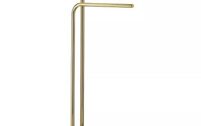 Złoty wieszak na ręczniki Kela Liron - recenzja produktu