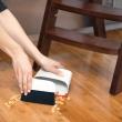 Zmiotka mini Compact OXO Good Grips beżowo-czerwona 1334280MLNYK