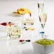 Znaczniki silikonowe do szklanek 12 szt. Mastrad spinacze MA-F01755